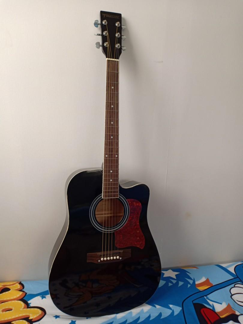 Fernando Acoustic Guitar With Cutaway Music Media Music Instruments On Carousell