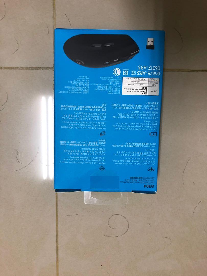 羅技G304 無線滑鼠