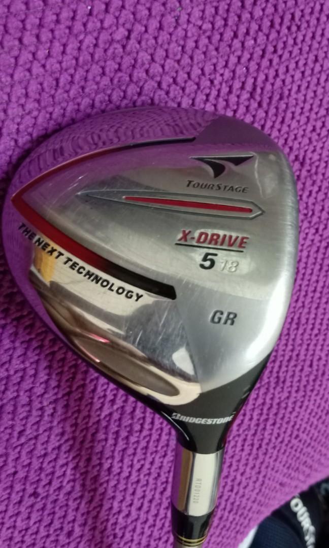 Golf wood 5 Bridgestone Tourstage X drive GR