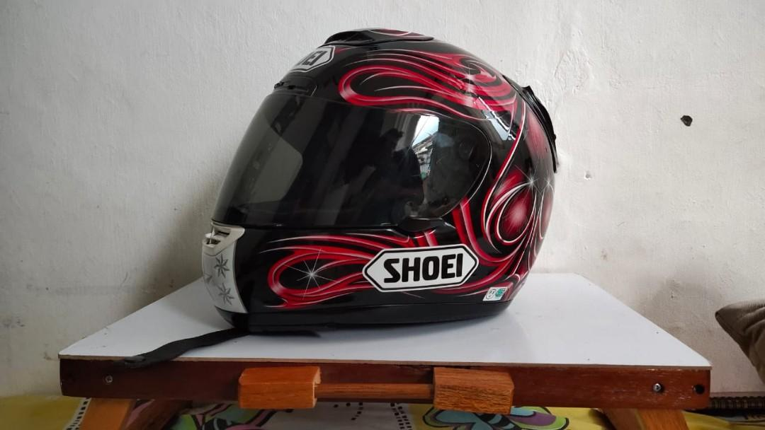 HELM : SHOEI X11 VERMEULEN RED