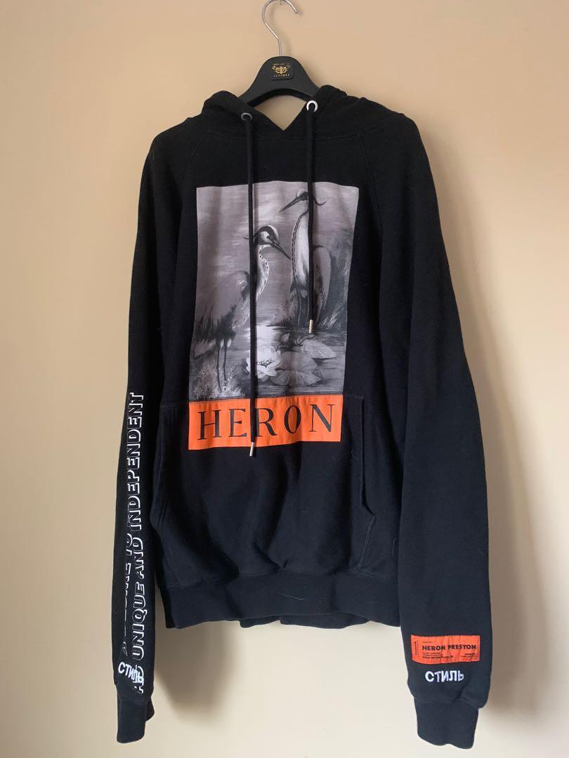 Heron Preston designer hoodie