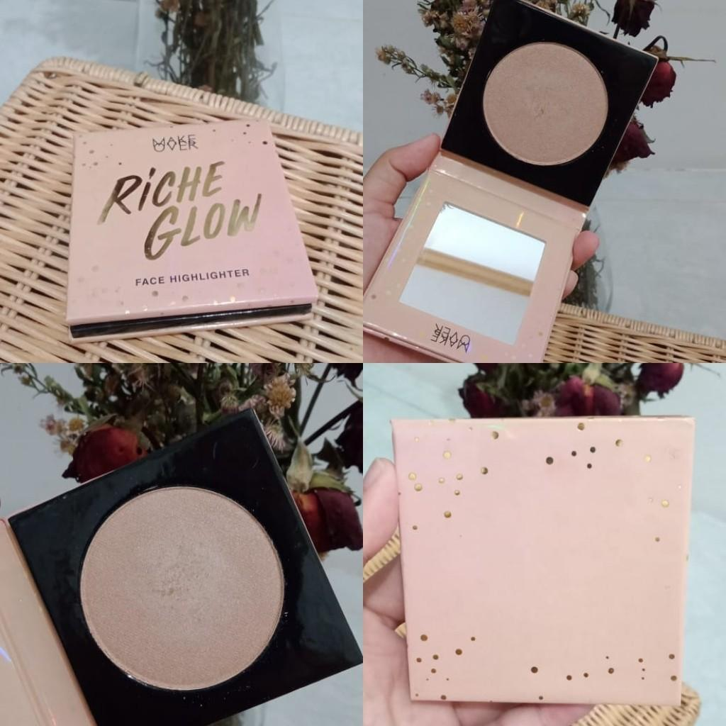 Riche Glow Highlighter Make Over