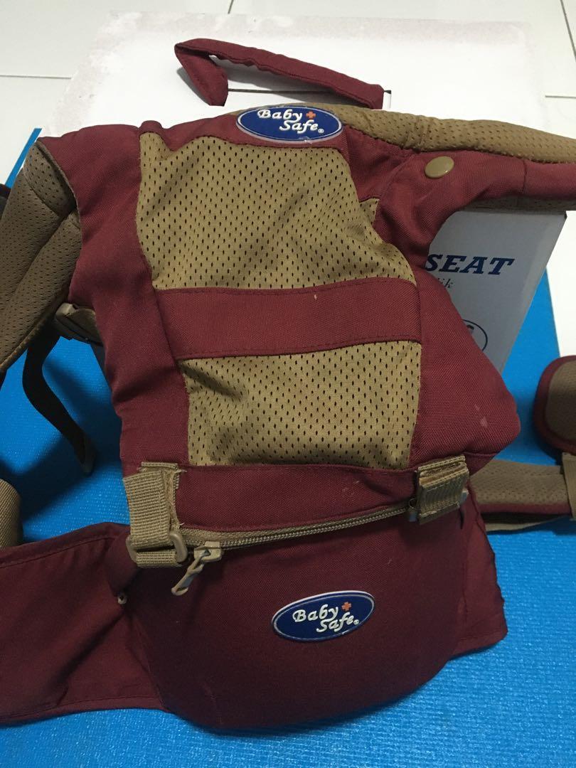 Hipseat / gendongan baby safe