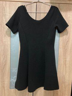 H&M 黑色 洋裝 女版