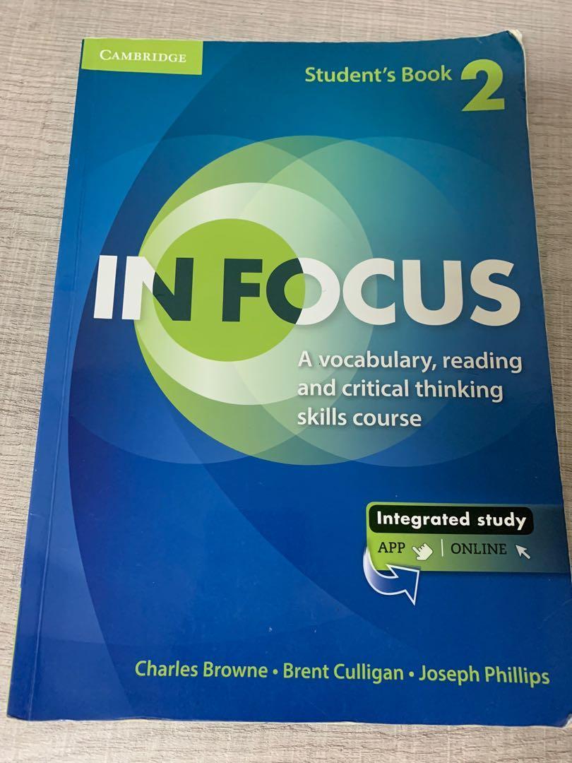 英文書in focus2(有筆記)