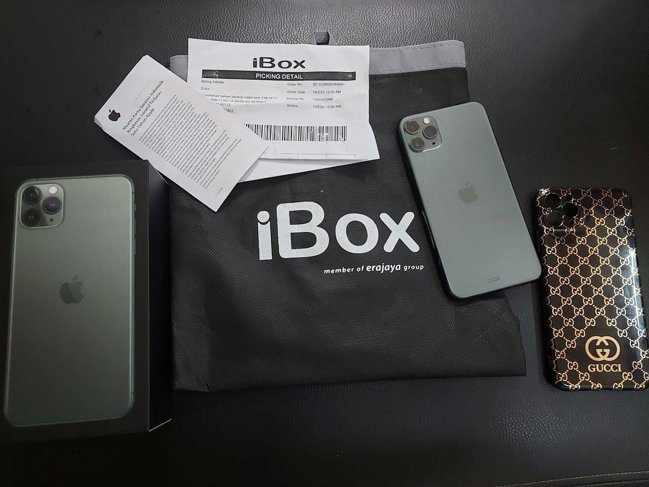 Iphone 11 pro max 256gb ibox