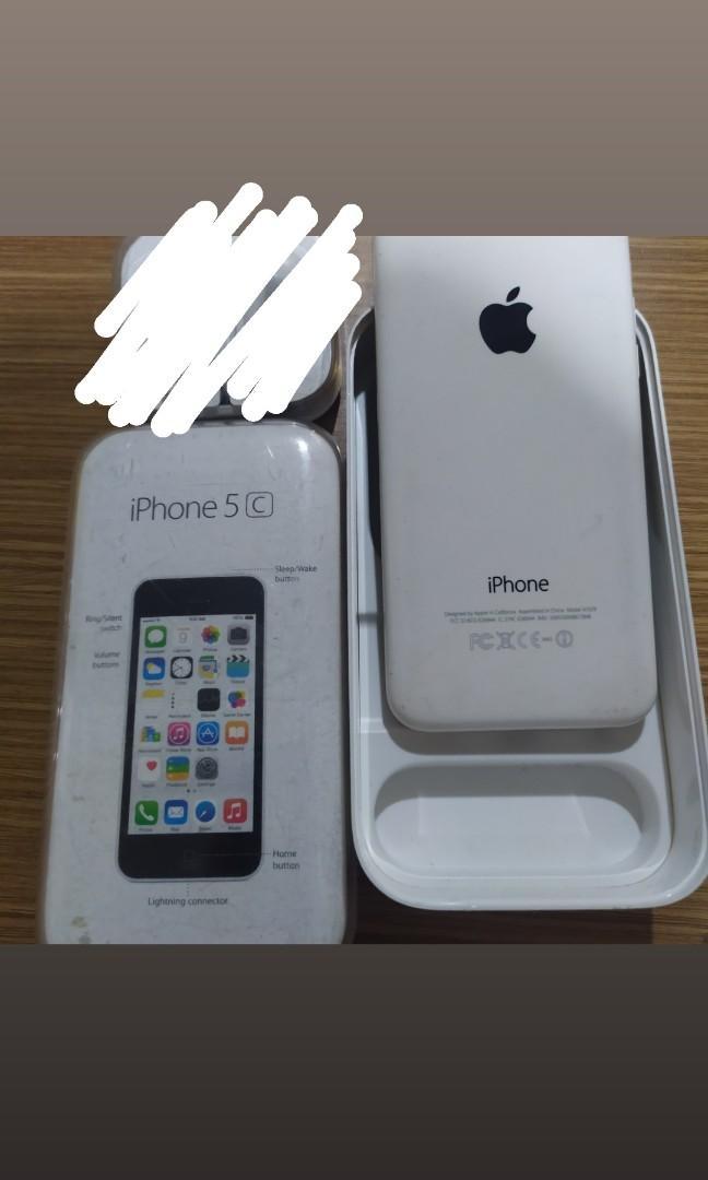 iPhone 5c 8gb putih bagus