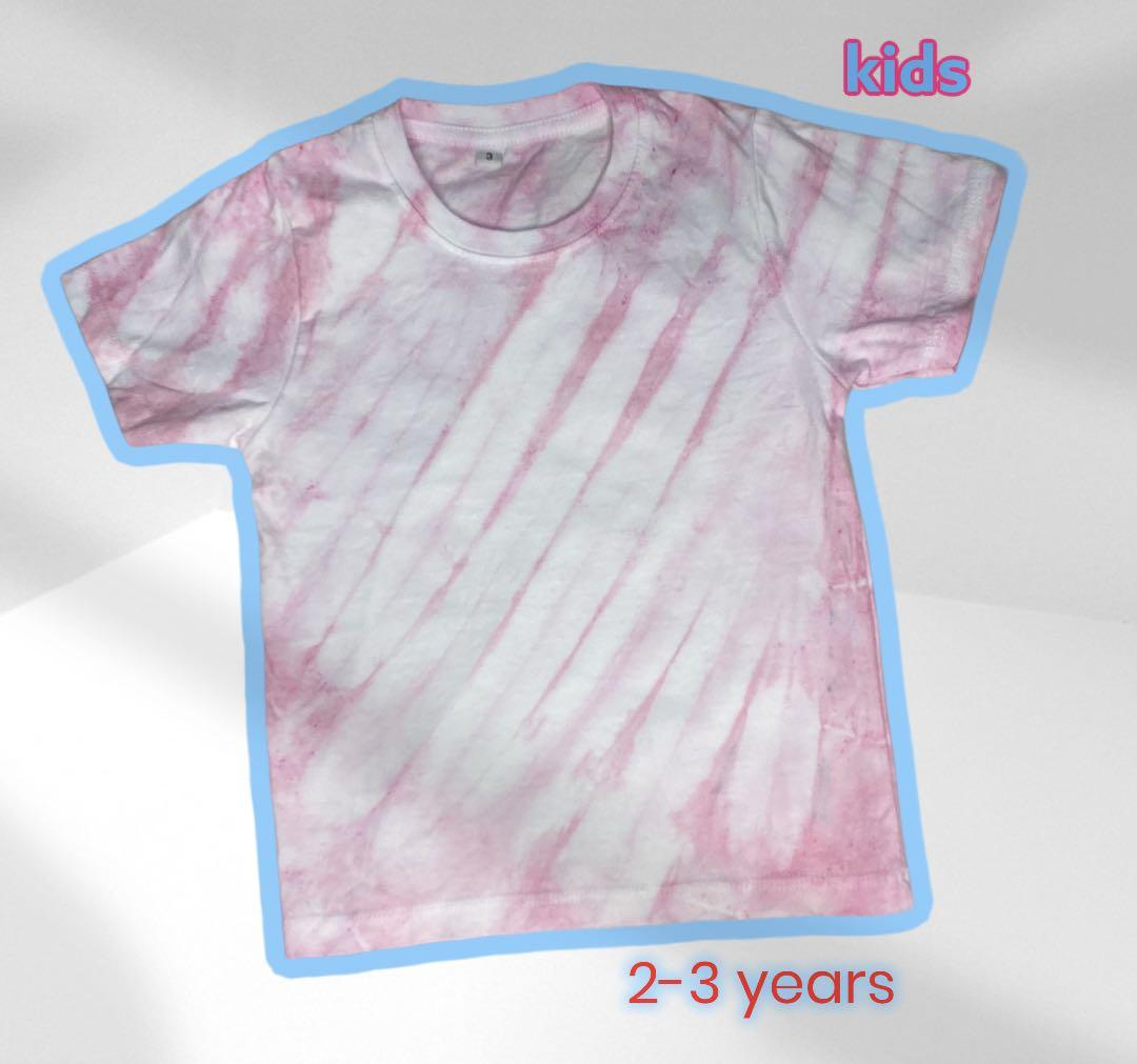 Kaos / top tie dye girl pink