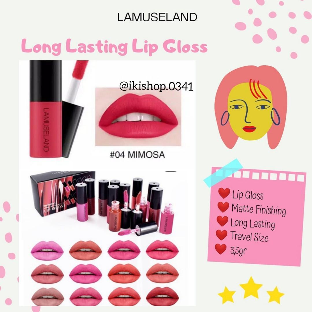 ‼️PROMO‼️Lamuseland Long Lasting Lip Gloss no 4-6