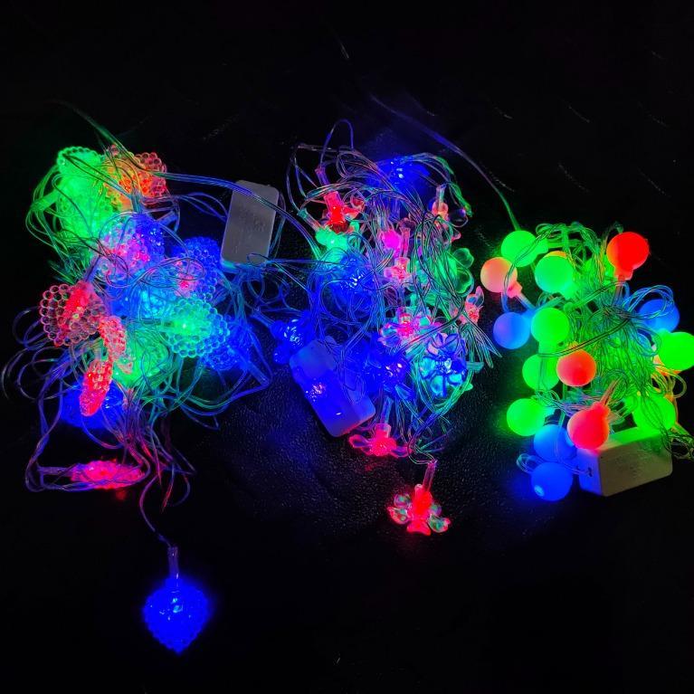 Lighting Lampu Tumblr Dekor Natal - 40L