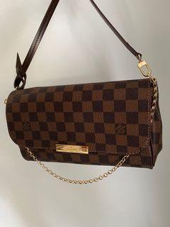 Louis Vuitton inspired favourite MM monogram canvas crossbody bag