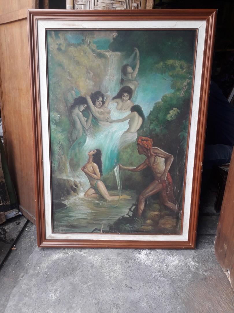 Lukisan Jaka Tarub