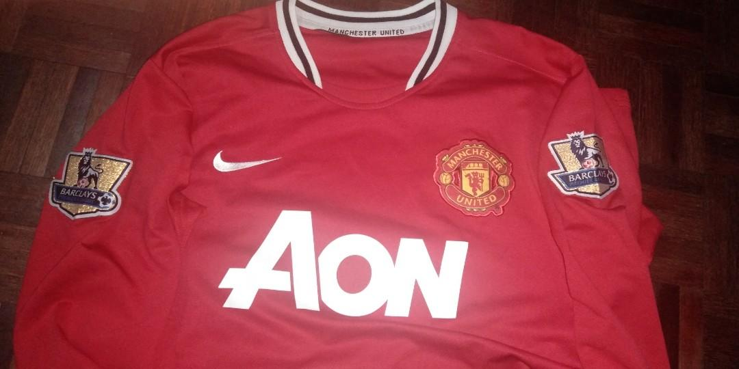 Manchester United 2011/2012 long sleeve