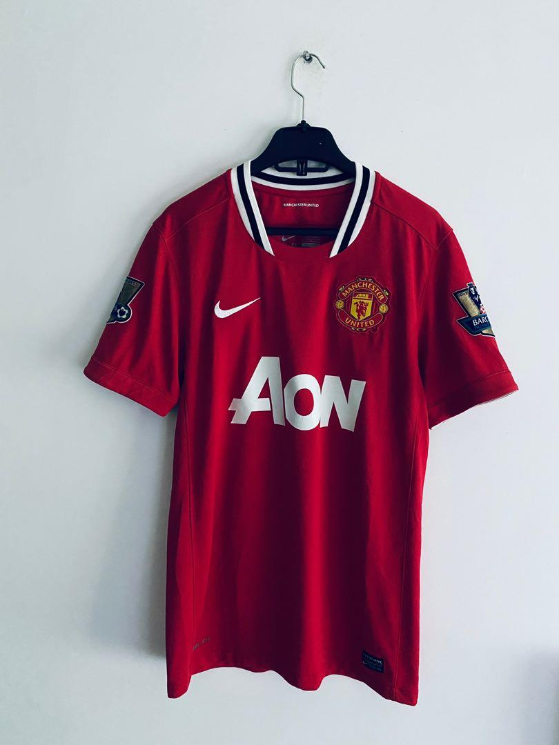 Manchester United Home Jersey 2012