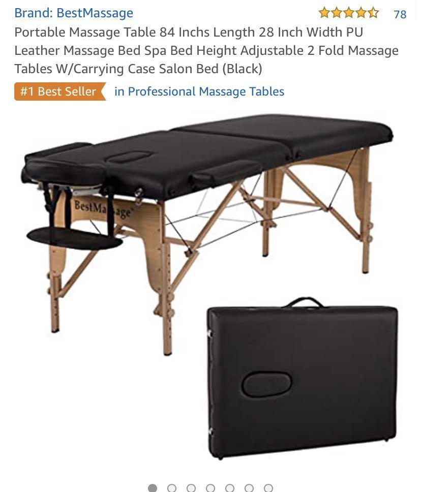 Massage/ Eyelash extension table