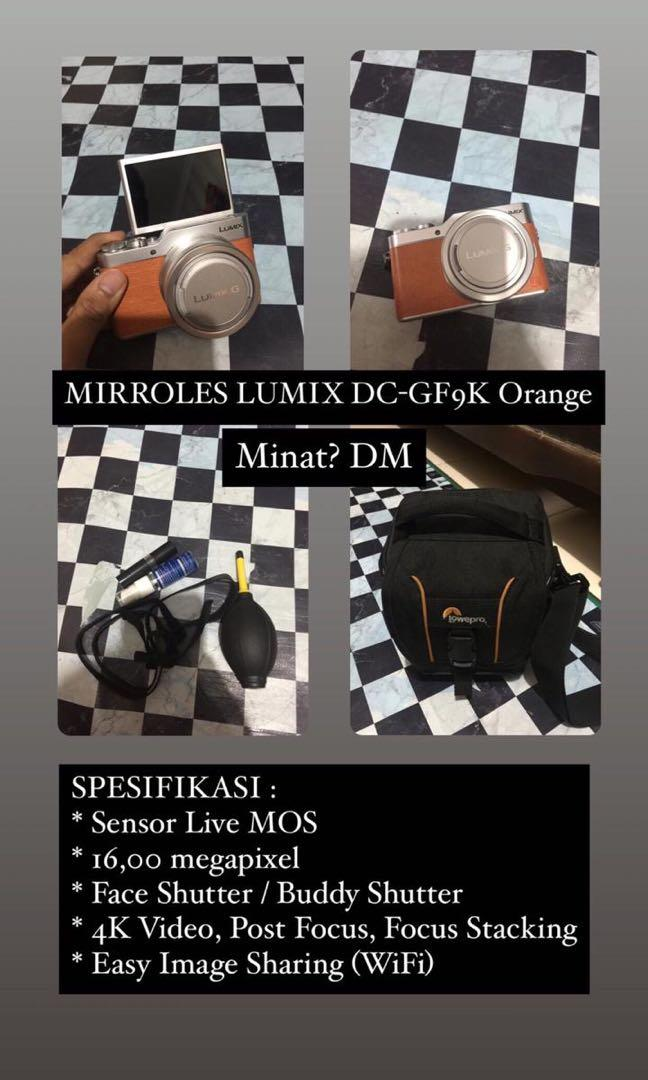 MIRROLES LUMIX DC-GF9K Orange