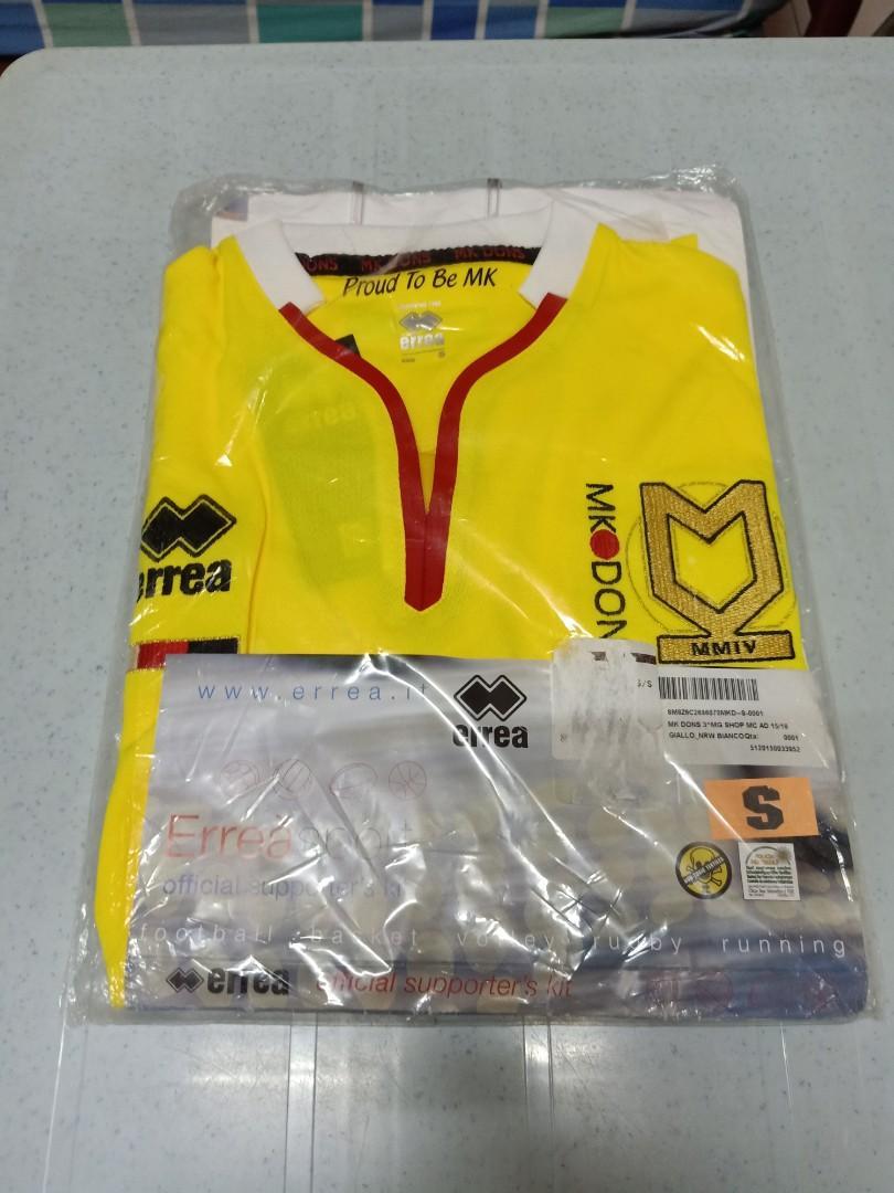MK Dons Third Kit 15/16