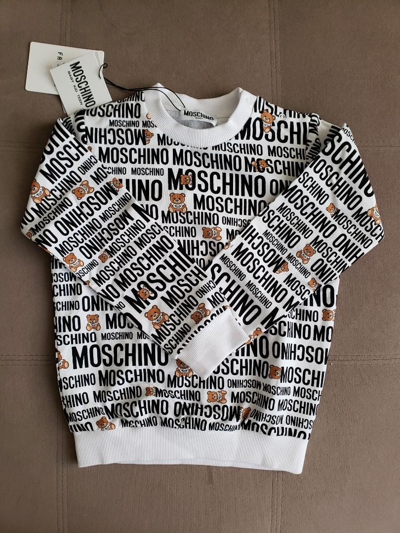 Moschino Kids Stretchy Long Sleeves Top - 3T