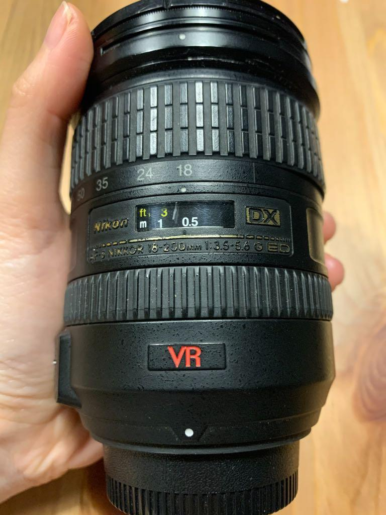 Nikon AF-S DX Nikkor 18-200mm F/3.5-5.6G ED VR 旅遊鏡