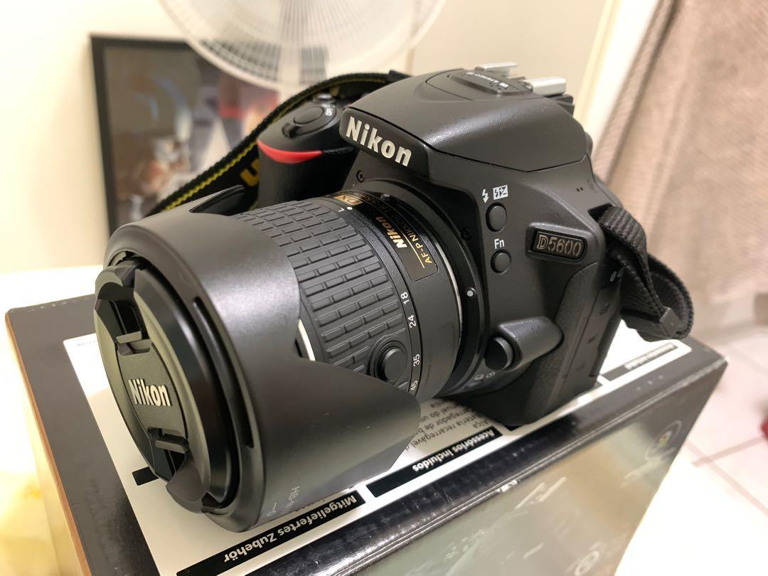保固中Nikon D5600(誠可小議)