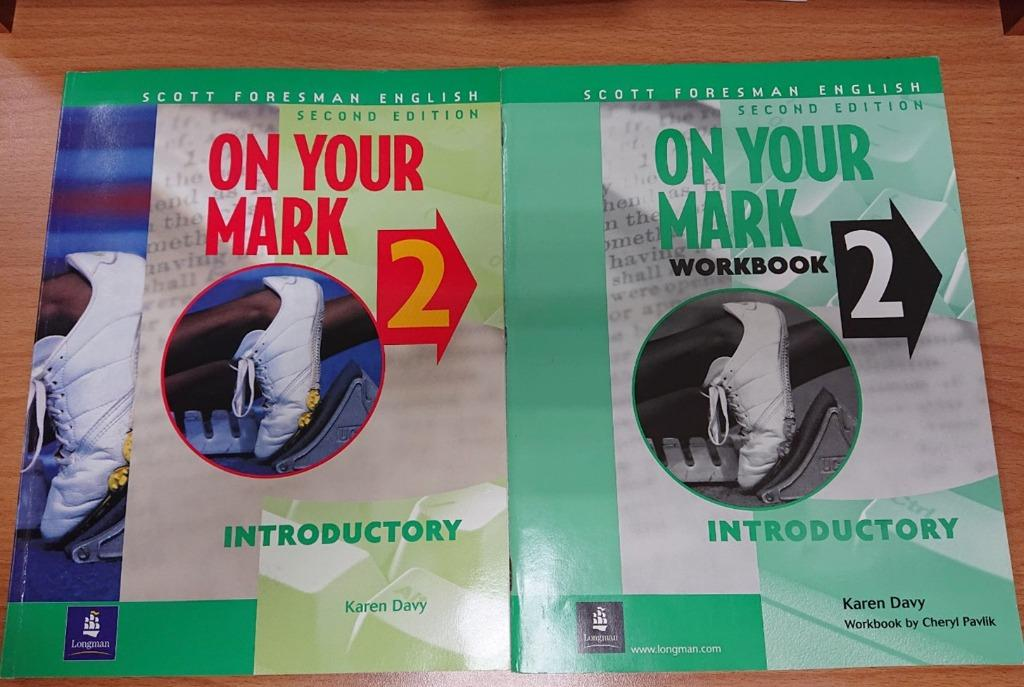 On Your Mark 2: Workbook Introductory  全新