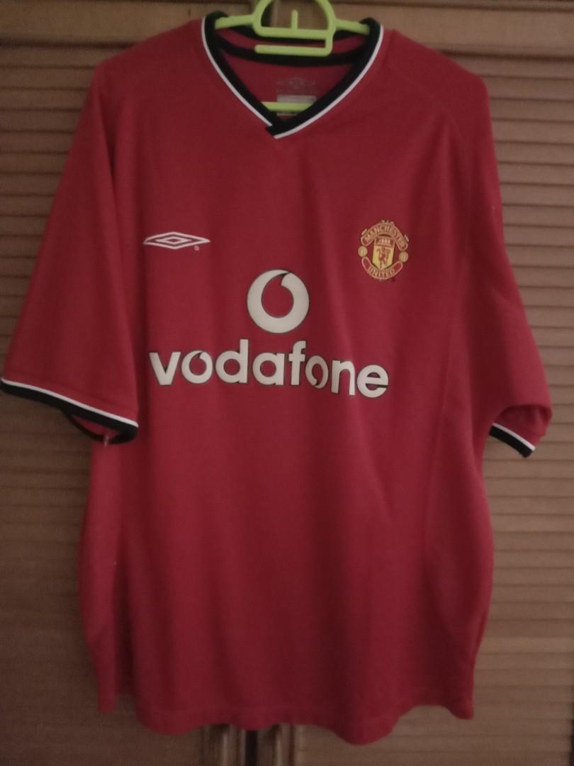 Original 2000-02 Manchester United Home Shirt M
