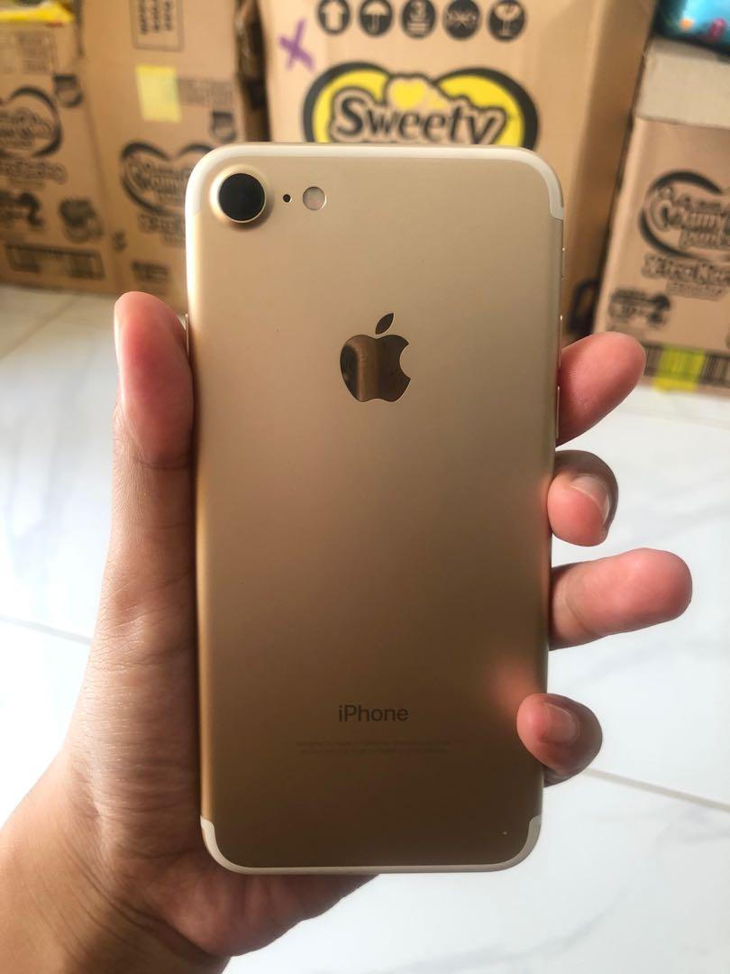 Preloved iphone 7 128gb inter