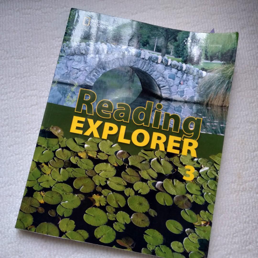 Reading explorer 英文課本(含CD) #開學季