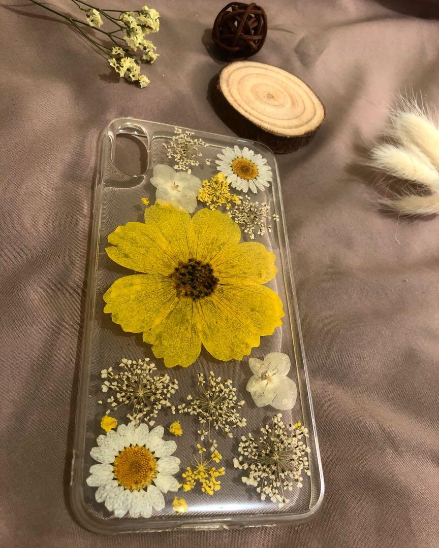 Real Dry Flower Case Iphone XS MAX