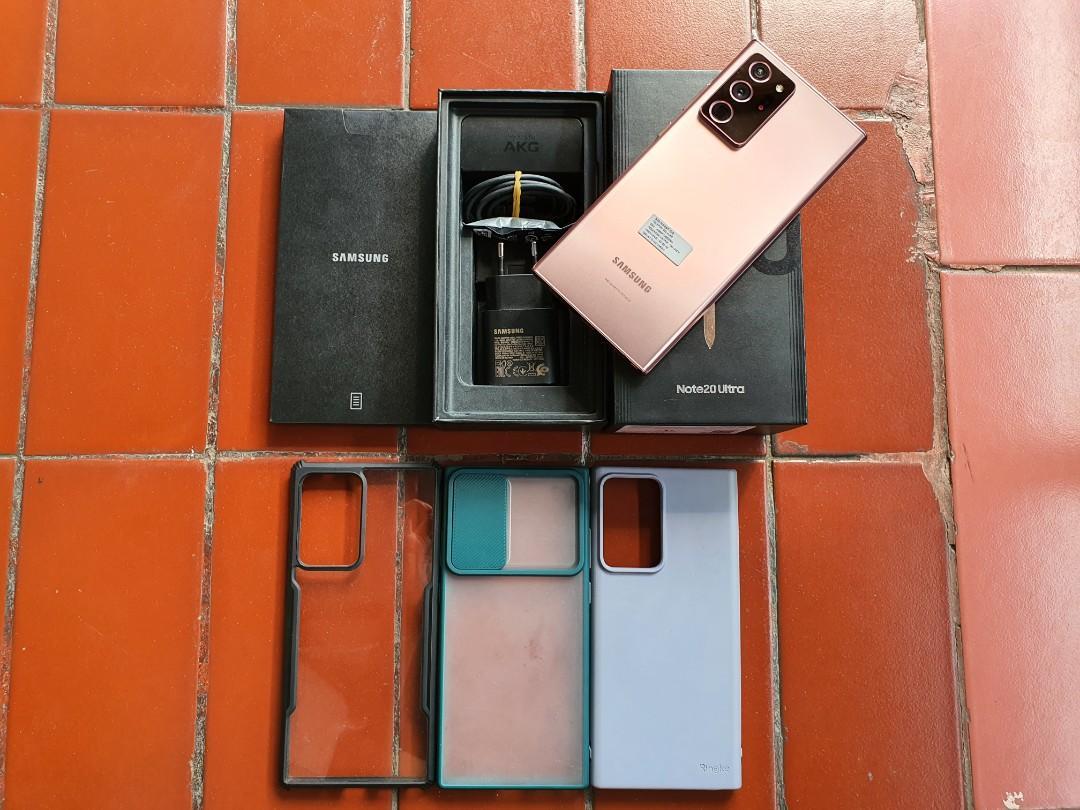 Samsung Note 20 Ultra Mystic Bronze Garansi Resmi Indonesia