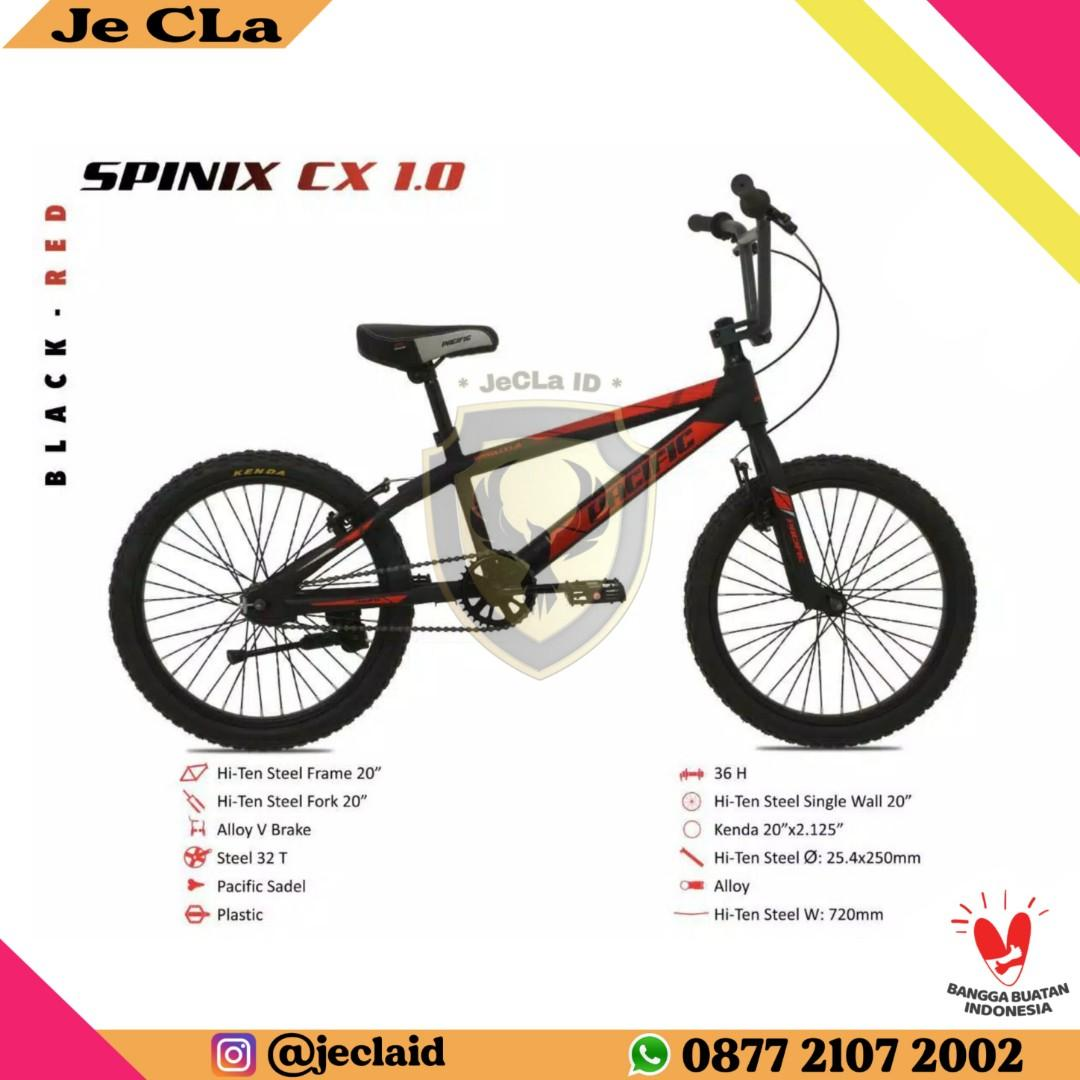 Sepeda BMX 20 PACIFIC SPINIX CX 1.0 Promo Home Credit DP Cuma 100rb