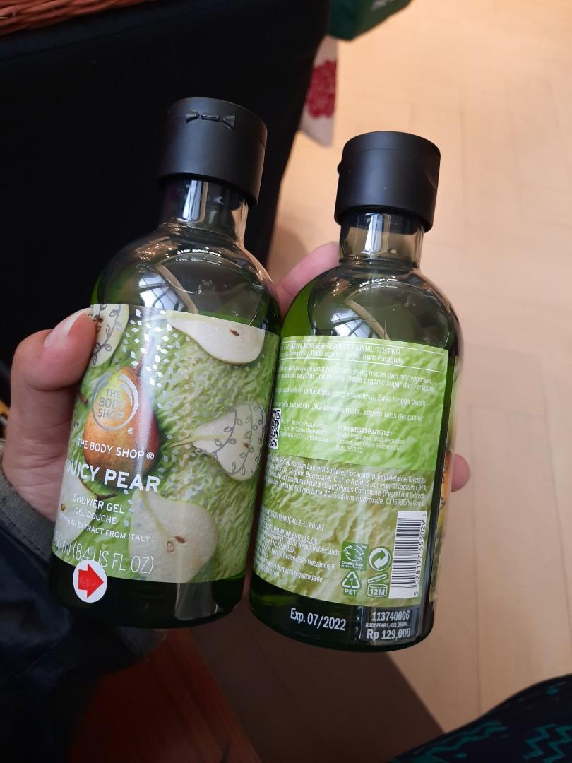Shower gel juicy pear