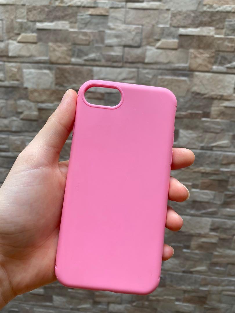 SILICONE CASE IPHONE 7 / IPHONE 8