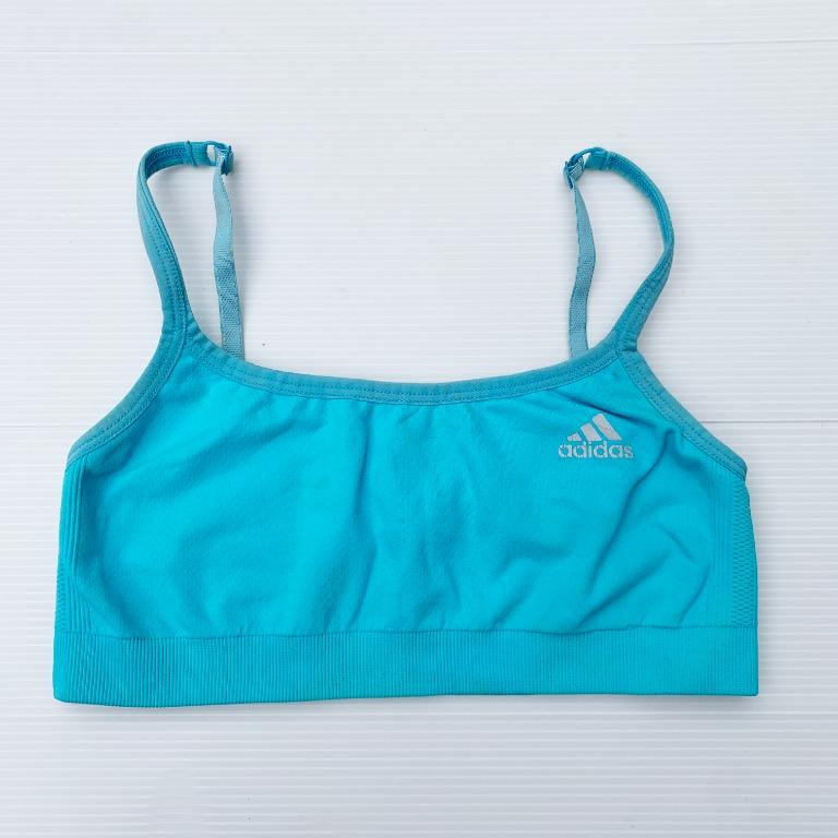Size M ADIDAS Sport Bra in Blue