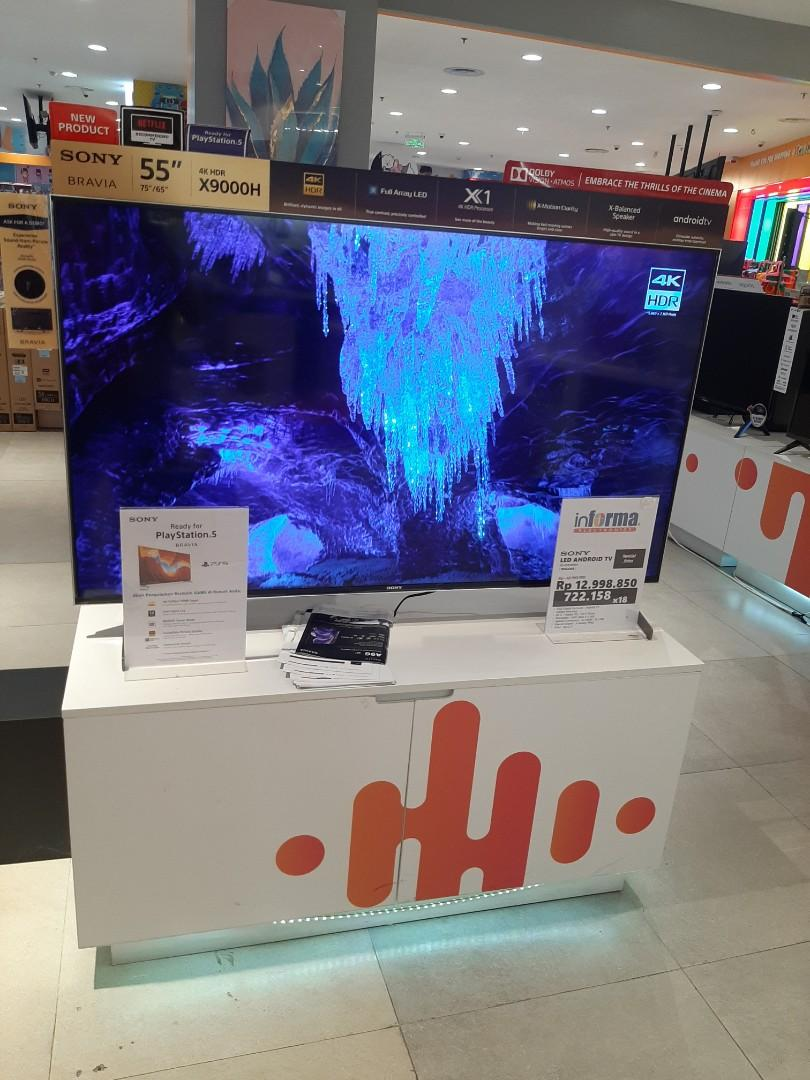 "Sony LED Android TV 55"" kredit tanpa jaminan"
