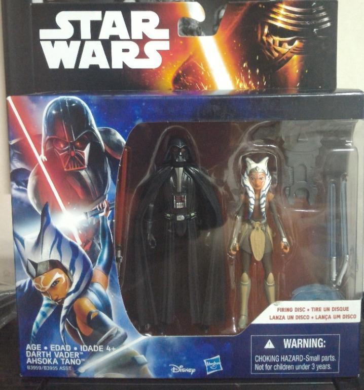 Star Wars 3.75 - Darth Vader & Ahsoka Tano