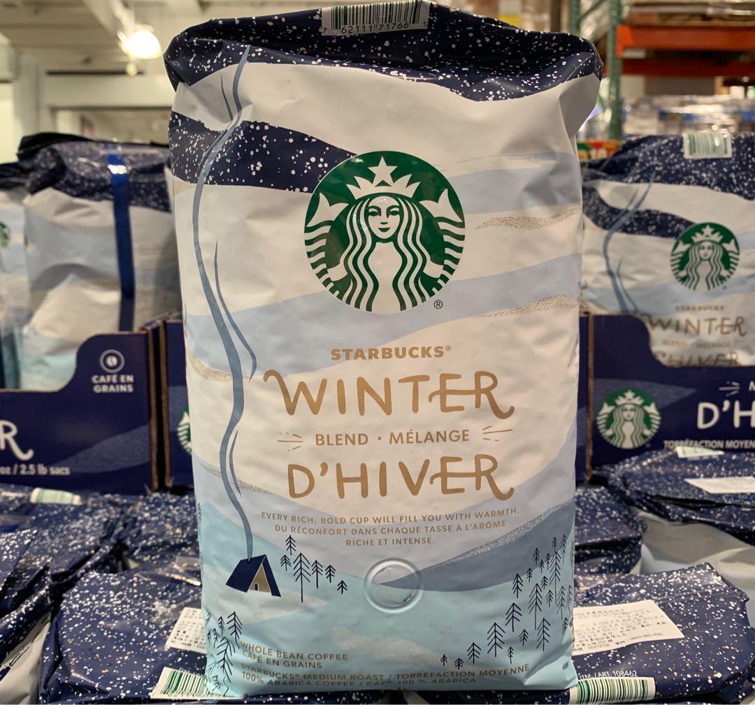 STARBUCKS星巴克 冬季限定咖啡豆 1.13kg (請私訊有貨再下單)