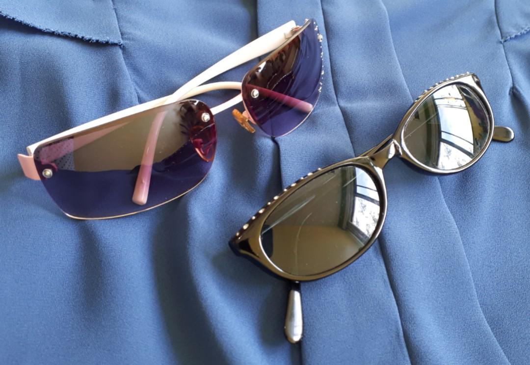 Sunglasses (Pink / Black)