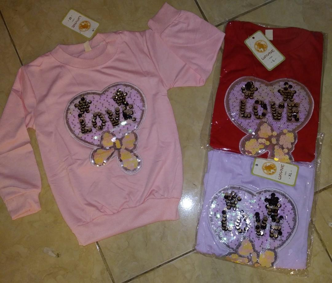 Sweater anak perempuan