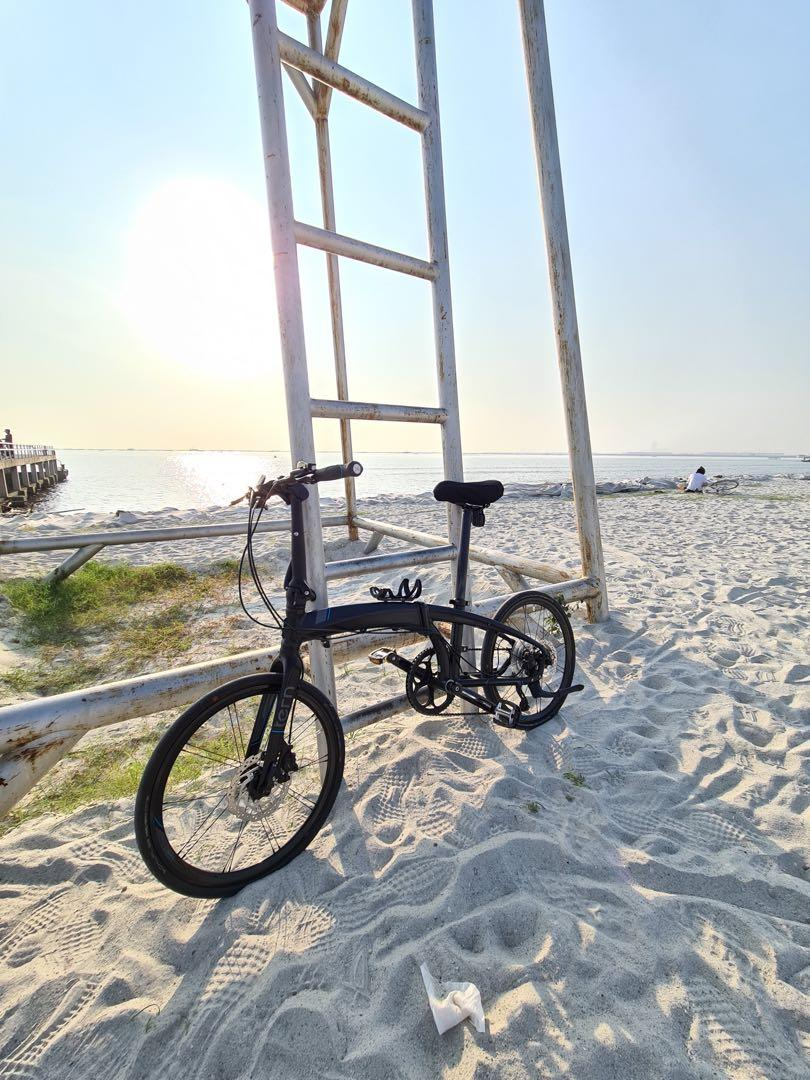 Tern Verge P10 sepeda lipat