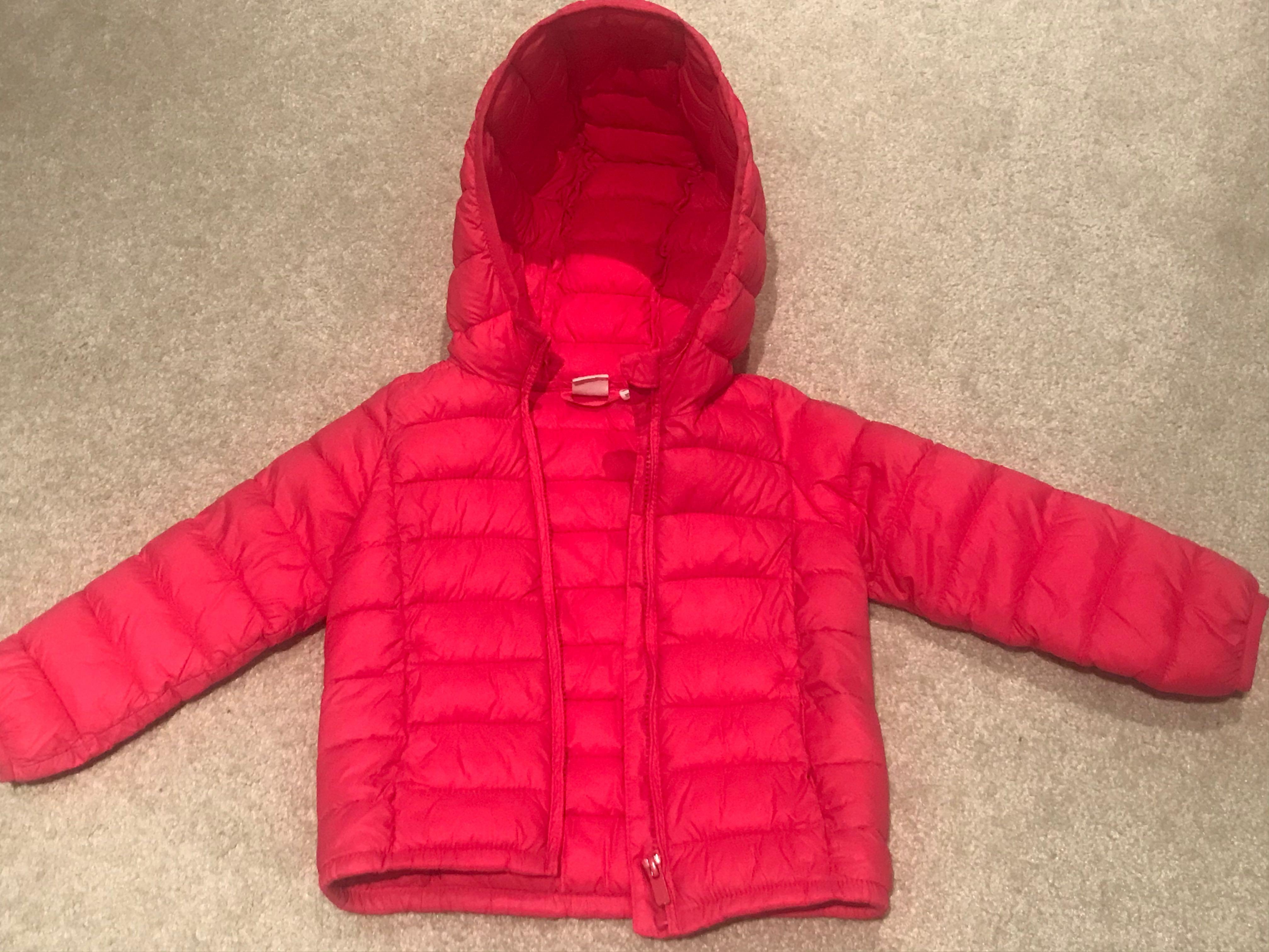 Toddler GAP puffer jacket