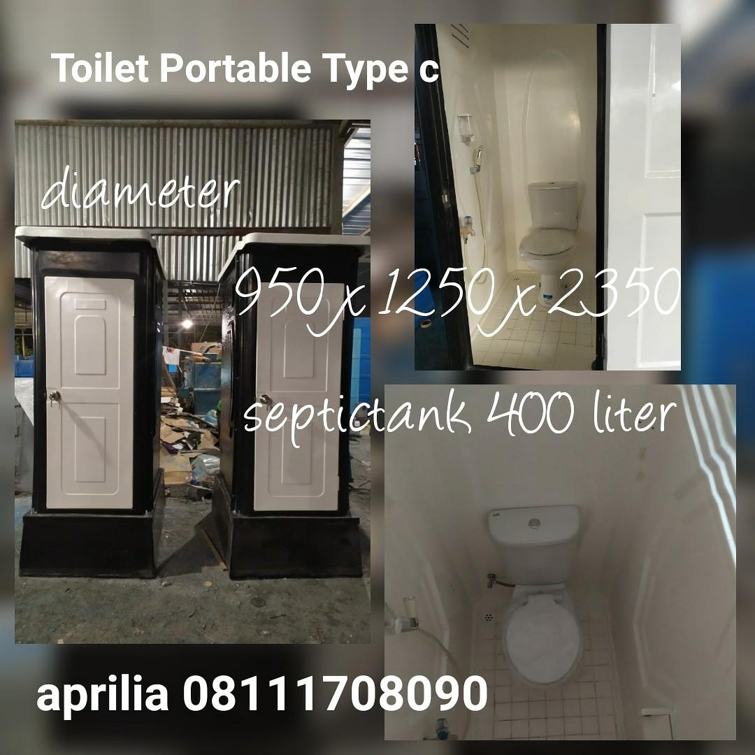 Toilet Fiberglass type c Costome warna