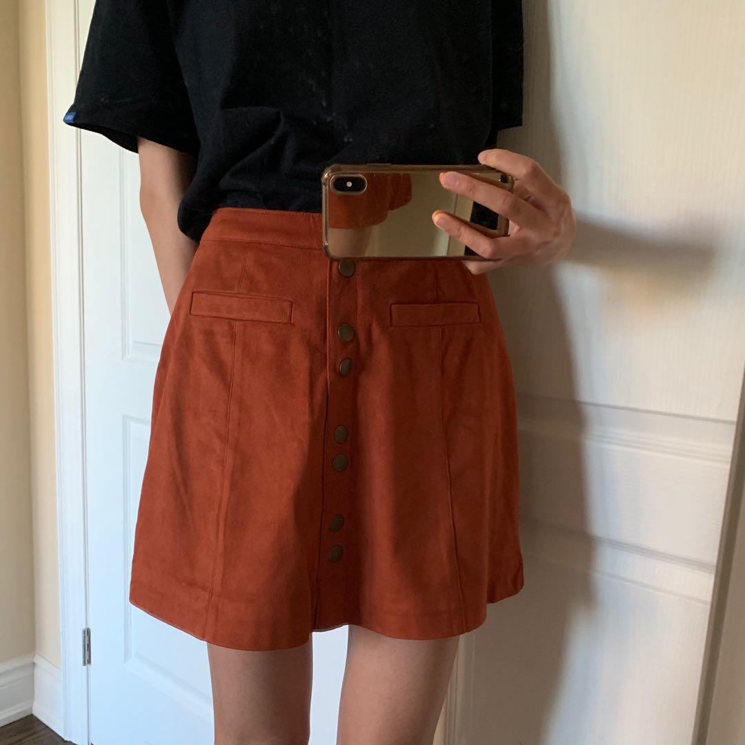Velvet Skirt (Extra Small)