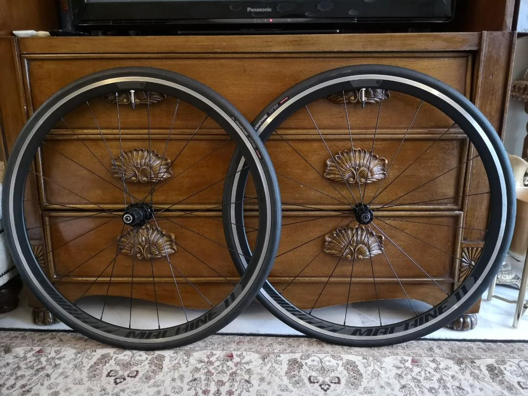 Wheelset alloy with tyres roadbike