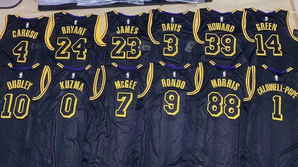 2020 NBA CHAMPION LA LAKERS JERSEYS