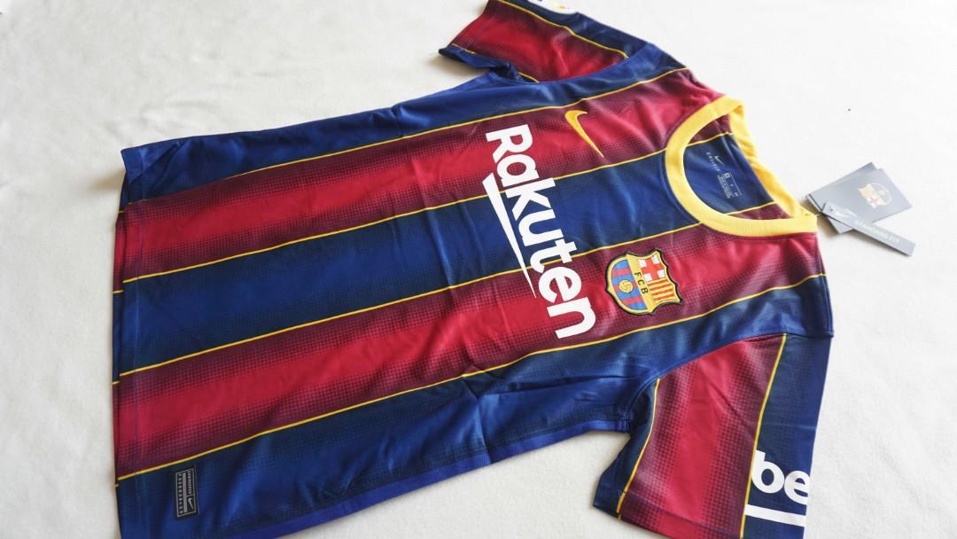 20/21 Barcelona Home Jersey (SI)