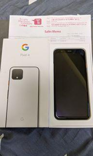 """""""有單有保"""" 99成新 128gb Google Pixel 4"""