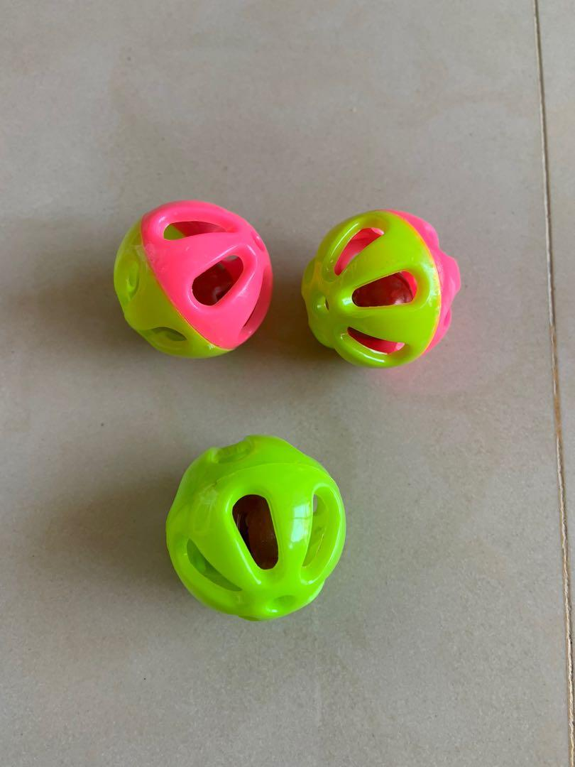 鈴鐺球 3顆