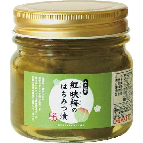 日本 福井紅梅醃蜂蜜