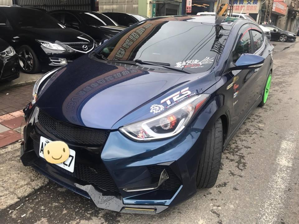【嚴選中古車、二手車】熱門車 現代 2014年 1.8 一輪強 藍